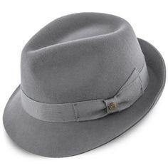 da99b58da6c Triumph - Walrus Hats Grey Wool Felt Trilby Hat - H7004. Fedora Hat  WomenTrilby HatFedora HatsWinter ...