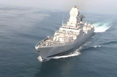 Indian Navy to Commission New Stealth Destroyer Indian Navy, Economic Times, Navy Ships, Kochi, Submarines, Prime Minister, Battleship, Boats, Weapons