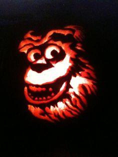 Sulley from Disneys Monsters, Inc. My best ever! Carved Pumpkins, Pumpkin Carvings, Disney Monsters, Monsters Inc, Holiday Gift Guide, Holiday Gifts, Disney Pumpkin Carving Patterns, Harvest Party, Holiday Treats