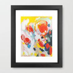 Color Study No. 6 Framed Art Print by Emily Rickard - $32.00