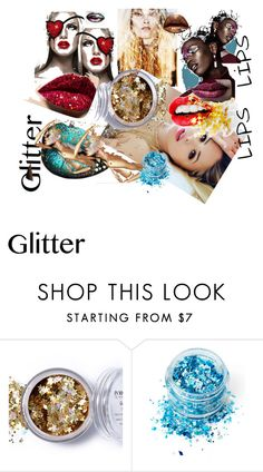"""""""MADNESS: GLITTER LIPS"""" by m-kints on Polyvore featuring косметика, In Your Dreams, Stanley Furniture и Pat McGrath"""