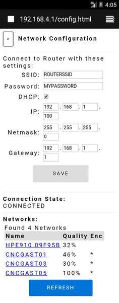 using ajax on esp8266 for gpio control...
