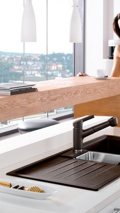 Kitchen sinks that define unbeatable standards of design, functionality and maintenance Sanitary Solutions By Hafele