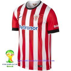 Athletic Bilbao 2014-2015 Season Home Jersey  PF685869  Cheap Football  Shirts 6353f6031590d