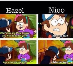 that's so sad nico's little sister is telling him what to do.