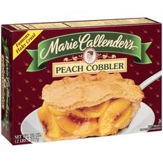 Marie Callender's Peach Cobbler:  3.5 grams per serving