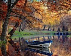 Pretty and Peaceful Autumn Lake!