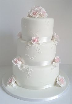 Availability of cake decorators may be restricted at the pastry shop of your opt… – Lace Wedding Cake Ideas Floral Wedding Cakes, White Wedding Cakes, Elegant Wedding Cakes, Elegant Cakes, Wedding Cake Designs, Lace Wedding, Wedding Lasso, Wedding Ideas, Quinceanera Cakes