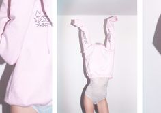 BANDIT CAT - Pink Hoodie  http://banditcat.fr/page-d-exemple/ By Zoum & Laponey