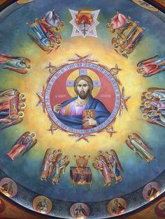 2 posts published by iconsalevizakis during September 2015 Orthodox Icons, Kirchen, Byzantine, Mythical Creatures, Fresco, Jesus Christ, Catholic, Pictures, Painting