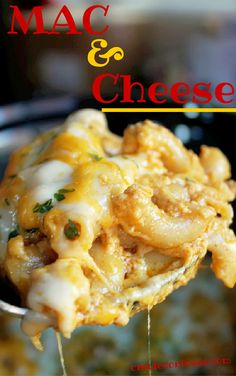 A little heavy cream, macaroni, and lot's of cheese fixes everything. This mac & cheese recipe is to die for. #CrockPot