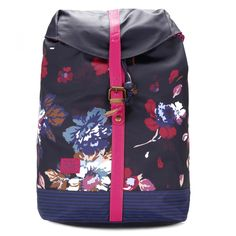 Joules Womens Navy Posy Baliol Backpack