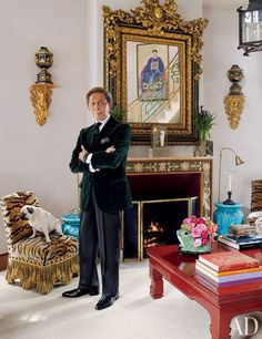 Step Inside Valentino Garavani's Asian-Inspired Château Near Paris Valentino Garavani, Architectural Digest, Urban Deco, Asian, Traditional Home Magazine, Traditional Homes, Different House Styles, French Style Homes, Decoration Inspiration