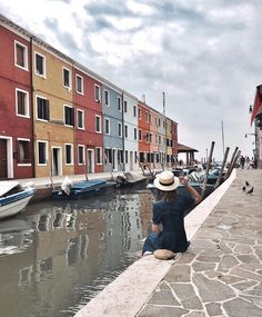 """Venice - Italy Travel Happy colorful sunday 💐 #burano #buranoitaly"""" Venice Travel, Italy Travel, Venice Italy, Bella, Sunday, Street View, Journey, Colorful, Happy"""