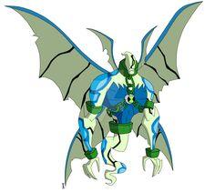 Biomnitrix Fusion: GhostChill by Insane-Mane on DeviantArt Aliens, Gwen 10, Ben 10 Ultimate Alien, Ben 10 Omniverse, Hero Time, Alien Design, Big Chill, Alien Races, Fan Art