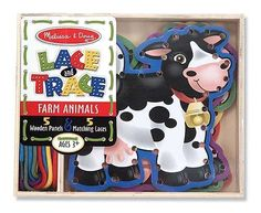 Melissa-&-doug Melissa & Doug Farm Lace & Trace | Buy Online in South Africa | TAKEALOT.com