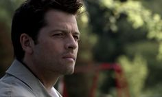 Cas profile. I miss his rouge-ish hair.