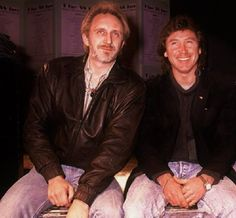 John Entwistle and Kenney Jones of THE WHO ☆ ◕‿◕ ☆