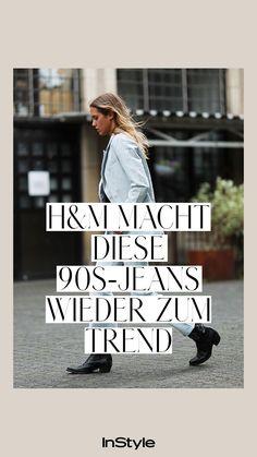 Jeans-Trend: Jeans im 90s-Look mit hellen Waschungen und weiten Schnitten werden 2021 der ultimative Trend. Bei H&M gibt's jetzt die coolsten Modelle. Schnell shoppen! #instyle #instylegermany #jeans #jeanstrend #hose #hosentrend #hm #lee #90s #90sjeans #denim #denimtrend