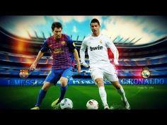 Gole Ronaldo i Messiego z rzutów wolnych.
