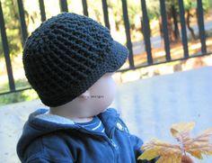 Toddler Newsboy Hat  Crochet Hat for Boys  by ducklyandjuicy, $27.00