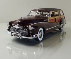 1947 Buick Roadmaster Estate Wagon by Franklin Mint Station Wagon, Vintage Cars, Antique Cars, Automobile, Old American Cars, Hot Rods, Buick Roadmaster, Buick Cars, Woody Wagon
