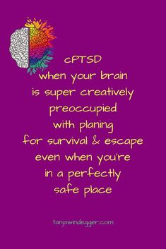 thriving with complex PTSD symptoms Stress Disorders, Anxiety Disorder, Mental Disorders, Mental And Emotional Health, Emotional Abuse, Ptsd Quotes, Ptsd Symptoms, Depression Symptoms, Ptsd Recovery
