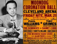 A DAY IN MUSIC HISTORY - Mar This was the night of an event now recognized as history's first major rock-and-roll show: the Moondog Coronation Ball, held in Cleveland Ohio. Alan Freed, March 21, Rock N Roll, Songs, Friday, Cleveland Ohio, Music, Larger, 1960s