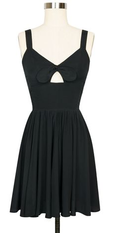 The summer staple Trashy Diva Hottie Mini Dress is now available in Black Rayon!