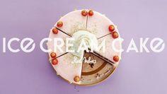 Red Velvet Ice Cream Cake Banner