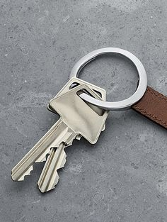 Luxury Life【Georg Jensen Barbry Leather Keyring 包柏瑞 皮繩鑰匙圈 ☆,Aurelien Barbry 奧瑞利安 包柏瑞 (fr) 設計】