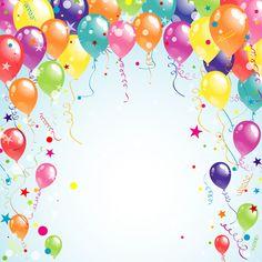 Balloon ribbon happy birthday background material 03 Related posts: Happy Birthday Background With Watercolor Flowers. Happy Birthday Frame, Birthday Frames, Happy Birthday Balloons, Happy Birthday Images, Happy Birthday Greetings, Birthday Pictures, First Birthday Themes, Birthday Wishes, Birthday Cards