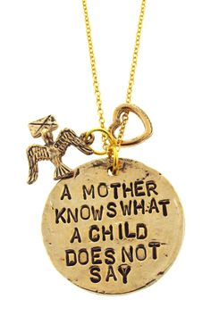 A Mother Knows