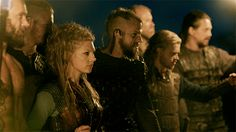 Look who's in the forefront! #Lagertha Vikings on HISTORY (@HistoryVikings)   Twitter