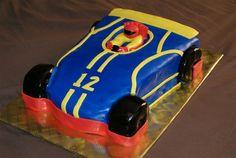 Go Kart/ Racing Cake - Chocolate Cake covered in MMF. Boy Birthday, Birthday Ideas, Racing Cake, Go Kart Racing, Party Themes, Party Ideas, Cake Cover, Boyish, Cake Chocolate