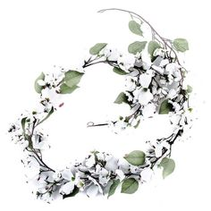 Get 6' White Dogwood Garland online or find other Garlands products from HobbyLobby.com
