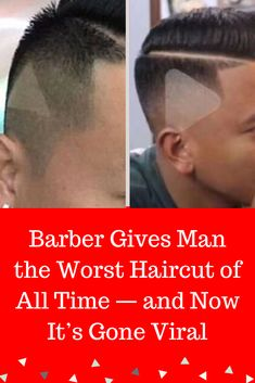 Have you ever left a hair salon not quite happy with your hair? Maybe it was lopsided or way too short, but I guarantee it wasn't as bad as this guys experience. #interesting #trending #viral #news #entertainment #memes #Barber #Gives #Man #Worst #Haircut