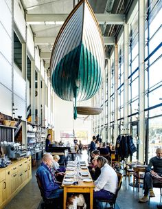 Oaxen Slip ~ Sweden's capital is a beauty, its many islands a heady mix of verdant parks, shoreline diversions – and world-class culinary and design scenes, says Maria Shollenbarger