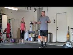 Not sure i could do this one for 12 minutes but this will show you other great workouts on You Tube from Chris and his wife. Workout with Heidi & Chris Powell ,  12 minute Cross fit exercise training program from home