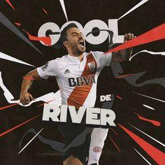 """다음 @Behance 프로젝트 확인: """"River Plate Goles Social Media - Season Two"""" https://www.behance.net/gallery/62260737/River-Plate-Goles-Social-Media-Season-Two"""