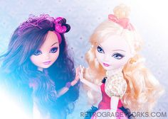 Briar and Apple Ever After High Dolls www.retrogradeworks.com