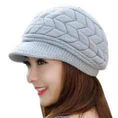 1d8c7adee26 Winter Beanies Knit Women s Hat Winter Hats For Women Ladies Beanie Girls  Skullies Caps Bonnet Snapback Wool Warm Hat