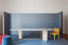 Plinto table by Meri