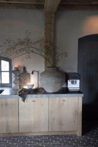 Interieurprojecten - Frieda Dorresteijn Kitchen Interior, Interior And Exterior, Kitchen Design, Rustic Kitchen, Kitchen Decor, Rustic Home Design, Weekend House, Industrial House, Rustic Interiors