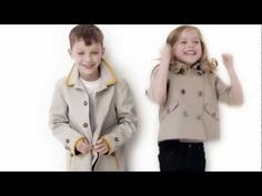Footage from the Burberry Childrenswear Spring/Summer 2012 campaign