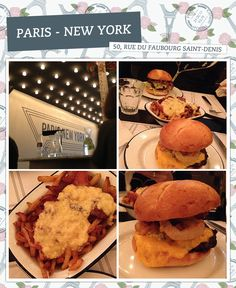 RESTAURANTE - SAINT DENIS Um dos melhores hamburguers que já comi na vida!!! O Paris New York fica numa região que eu nunca tinha ido, e como sempre me perdi até encontrar a rua certa… Mas ainda bem que encontrei!! O cardápio é enxuto, são 6 opções de hamburguer e dois tipos de batata, mas não precisa de mais do que isso! O que faz a comida incrível são os queijos do PNY, o cheddar é envelhecido, tem um sabor que eu nunca soube que cheddar podia ter!! Nhammm! Pedi o 'Return of the Cowboy', e…