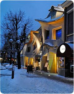 Krzywy Domek (Crooked House) in Sopot, Poland by Szotynscy & Zaleski