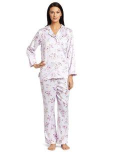 Carole Hochman Women`s Cozy Back Satin Sleepwear Set $24.06