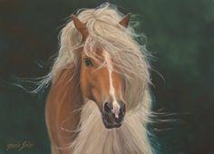 Misty,  oil on canvas 20x30, Daria Solar Art, a painter from the #lovingvincent team, http://www.dariasolar.eu/ ,           #horse #equestrian #hipika #konie #grzywa #waitr