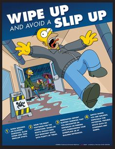 Simpson's Safety Posters                                                                                                                                                                                 Más